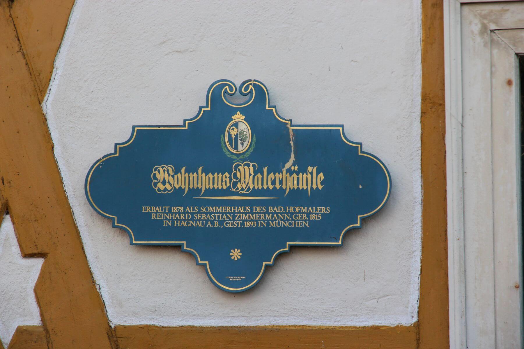 Zimmermann Malerhäusle