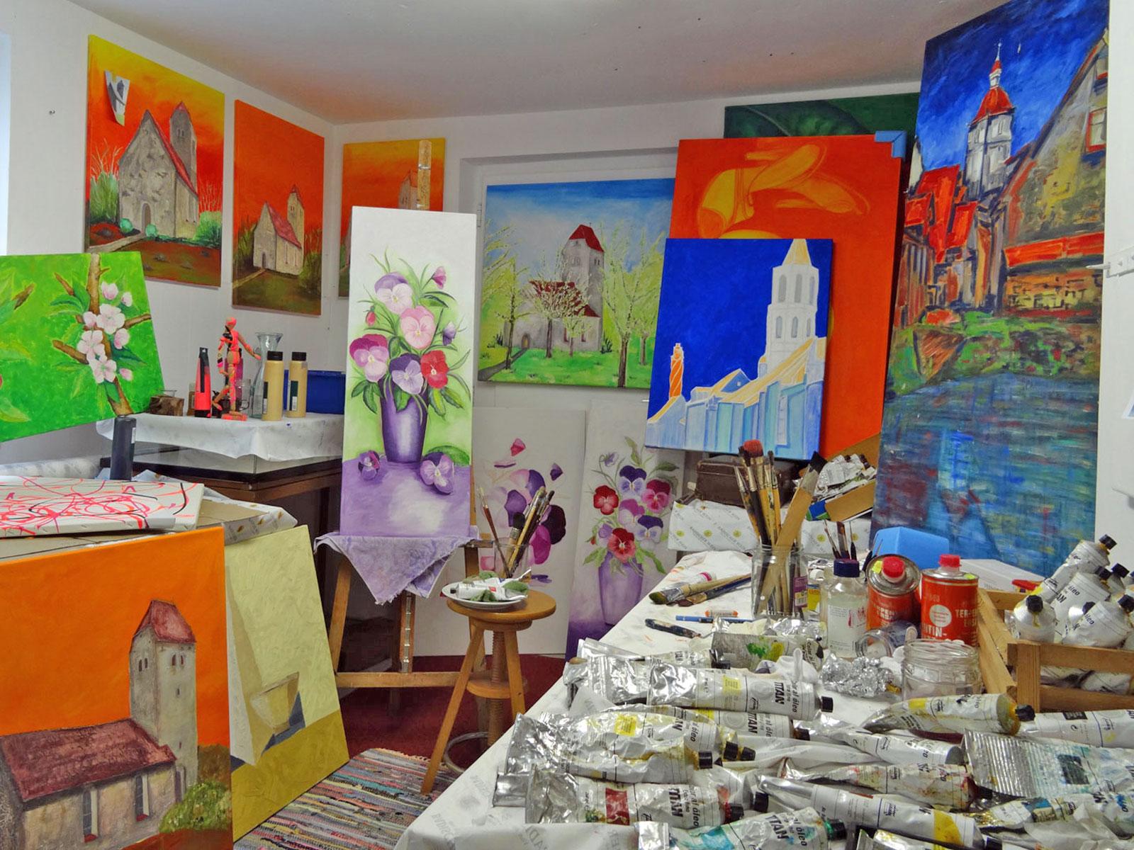 Ausstellung von Frau Servay-Böttcher