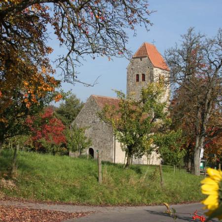 Kirche St. Oswald und Otmar in Frenkenbach